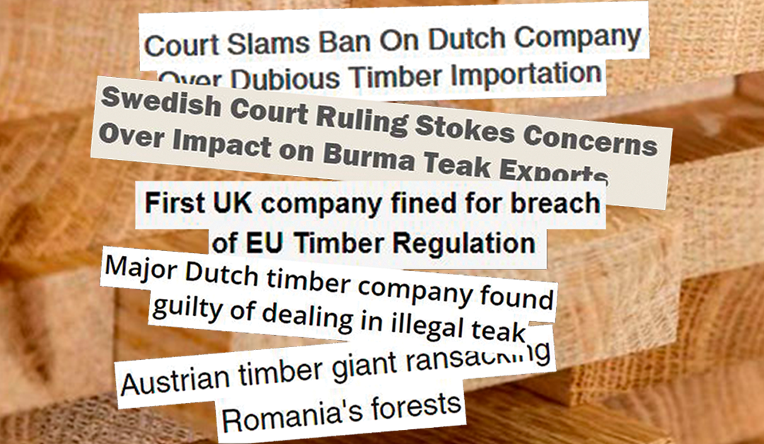 EUTR Enforcement: Netherlands sanction import of tropical plywood